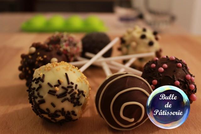 Recette des cakepops au chocolat