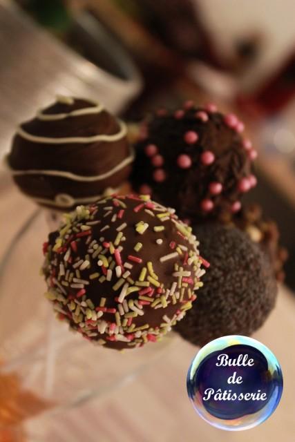 Dessert facile : les cakepops au chocolat