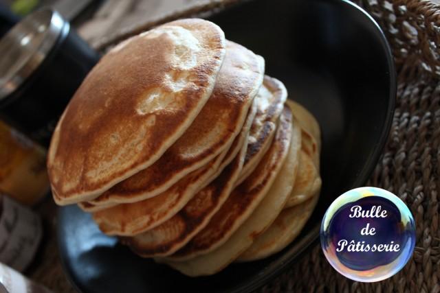 Pancakes : recette sans temps de repos