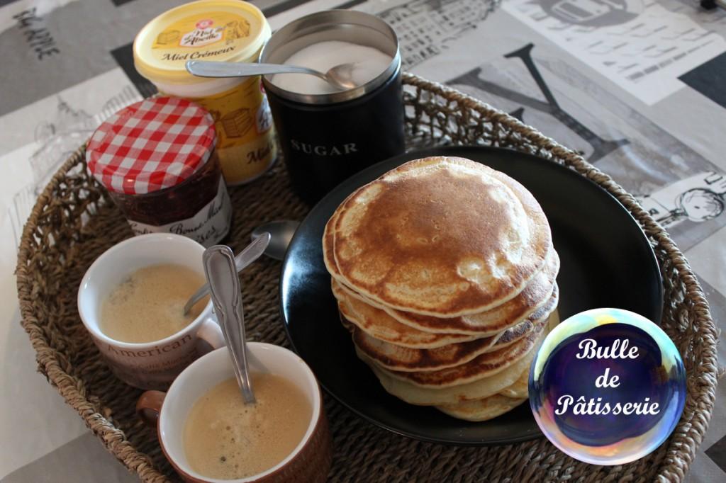 Pancakes pour le petit-déjeuner