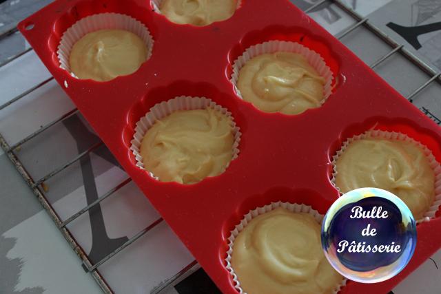 Cupcakes Framboises-Citron : en cours de préparation