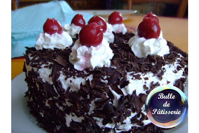Pâtisserie : la traditionnelle Forêt Noire