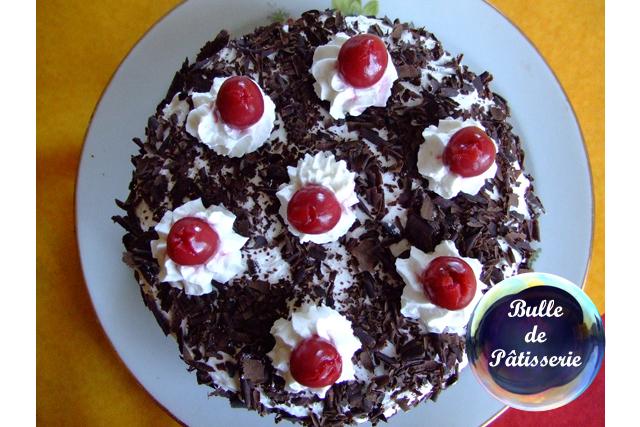 Recette : le gâteau de la Forêt Noire