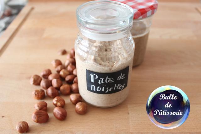 Recette de base : pâte de noisettes maison