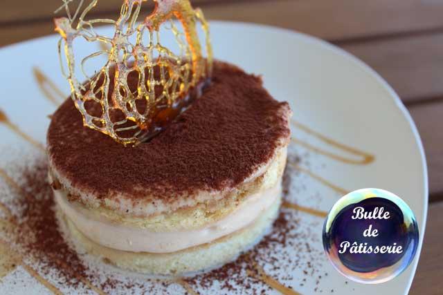 Dessert revisité : le tiramisu café-caramel