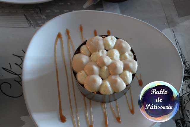 Tiramisu café-caramel : montage