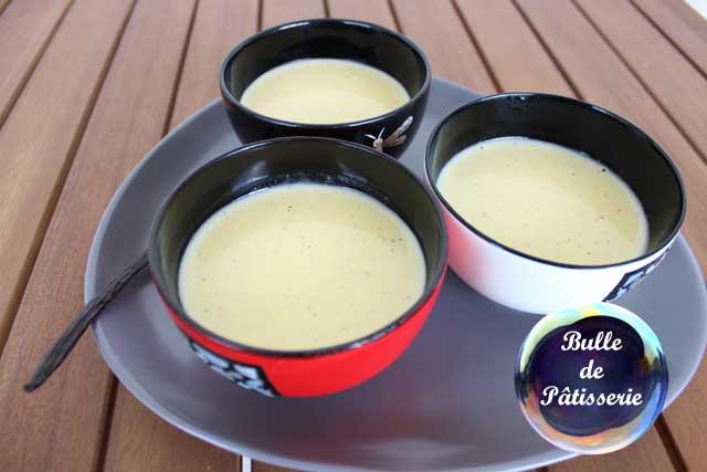 Recette de la crème anglaise maison