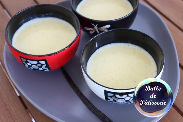 Dessert : la crème anglaise maison