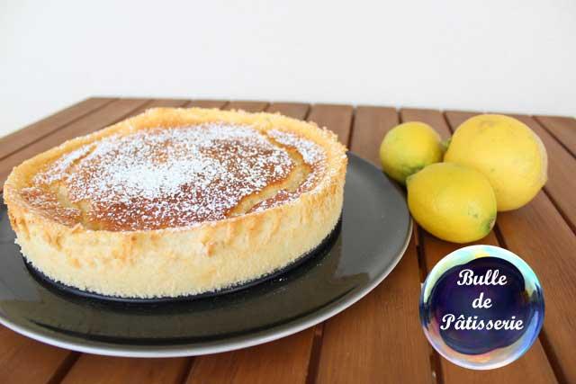 Dessert : le gâteau magique au lemon curd