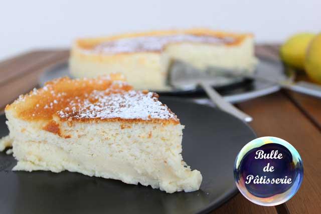 Pâtisserie : le gâteau magique au lemon curd