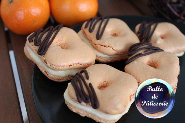 Dessert : macarons à la clémentine