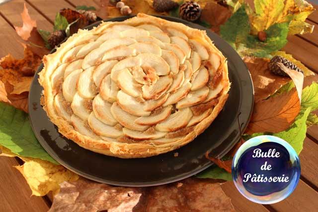 Recette : la tarte aux pommes et aux noisettes