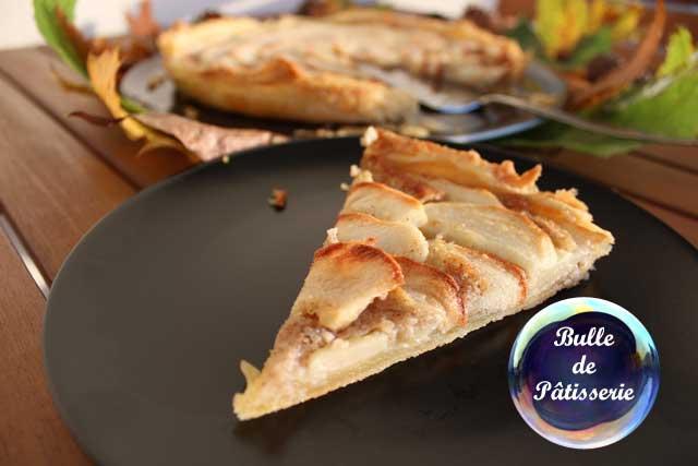 Dessert : la tarte pommes-noisettes