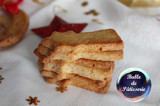 Pâtisserie : petits sablés de Noël