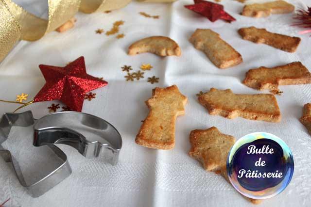 Recette de Noël : petits sablés de l'avent