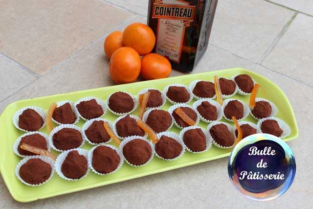 Pâtisserie de Noël : les truffes chocolat noir-orange