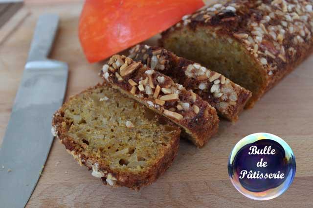 Pâtisserie : cake au potimarron et aux amandes