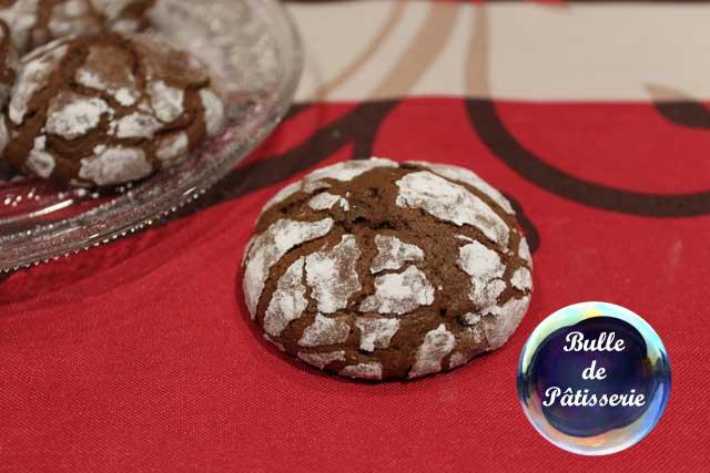 Pâtisserie : les craquelés au chocolat