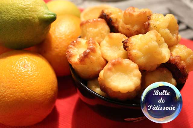 Pâtisserie : les cannelés orange-citron