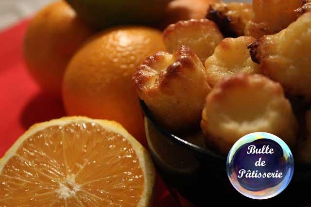 Recette : cannelés orange-citron