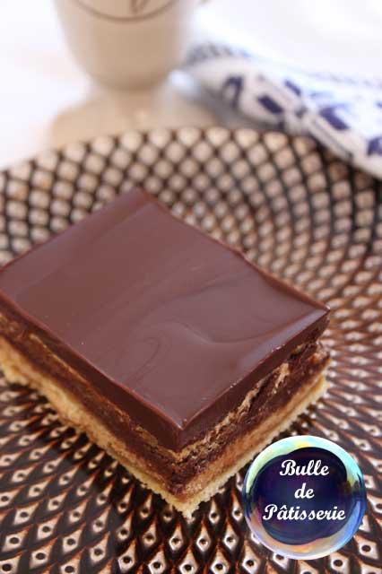 Gâteau Opéra : le mariage du chocolat et du café
