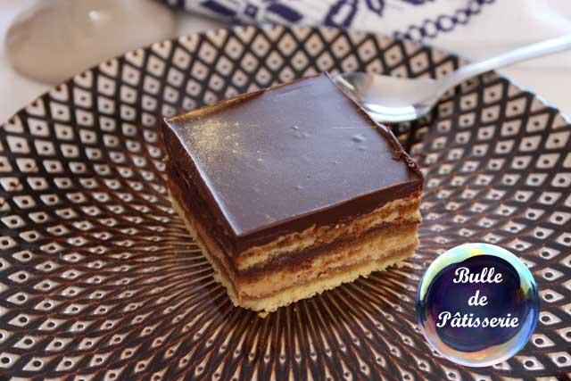 Dessert : le gâteau Opéra
