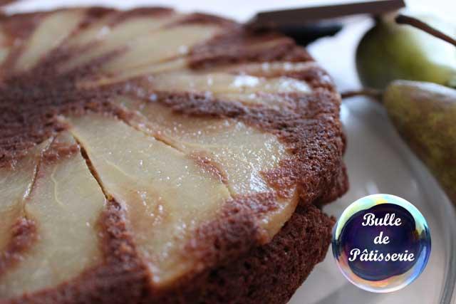 Recette rapide : gâteau léger aux poires et au chocolat