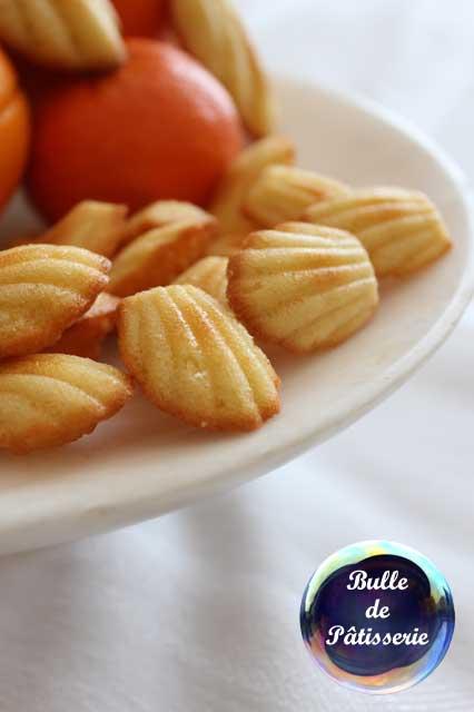Recette : les madeleines à la fleur d'oranger