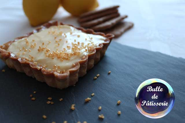 Recette : tartelette citron-spéculoos