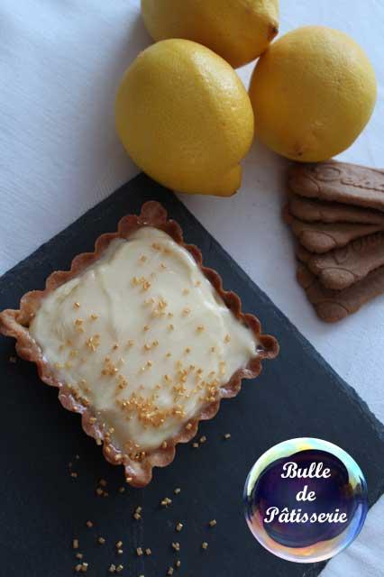 Pâtisserie : tartelette citron-spéculoos