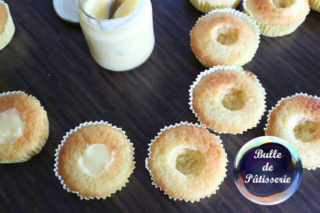 Préparation des cupcakes au citron