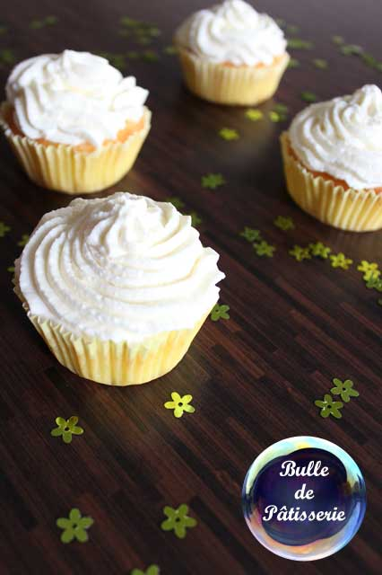 Pâtisserie : cupcakes au citron