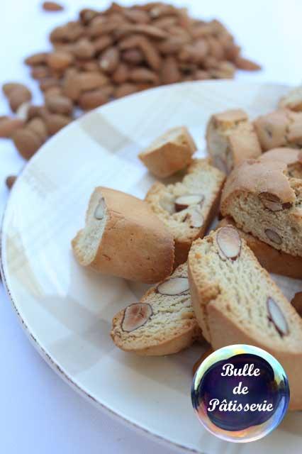 Petits gâteaux : les croquants aux amandes