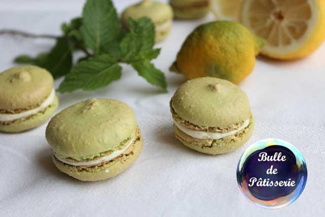 Recette d'été : macarons mojito