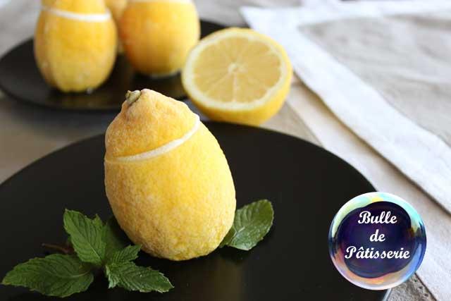 Recette estivale :citrons givrés
