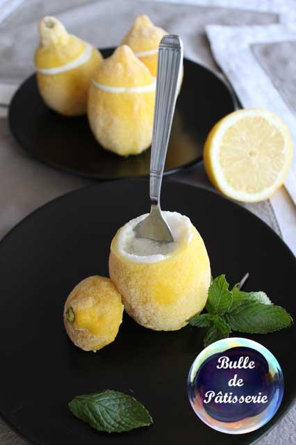 Sorbet d'été : les citrons givrés