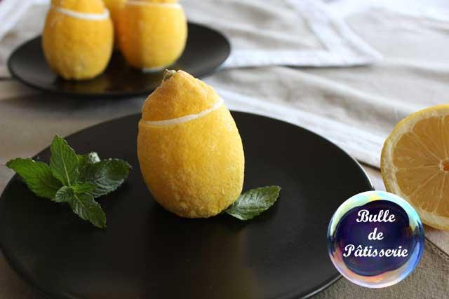 Citrons givrés au sorbet