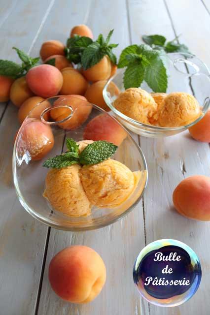 Recette : glace à l'abricot façon italienne