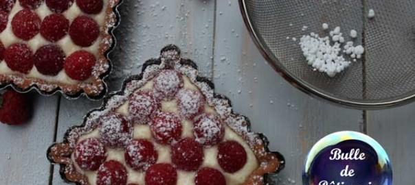 Dessert estival : tartelettes aux framboises et crème mascarpone
