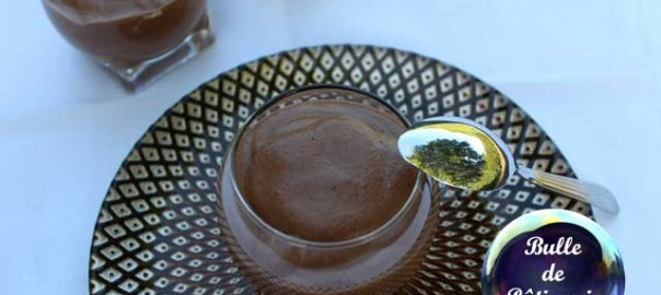 Recette originale : mousse au chocolat sans oeufs