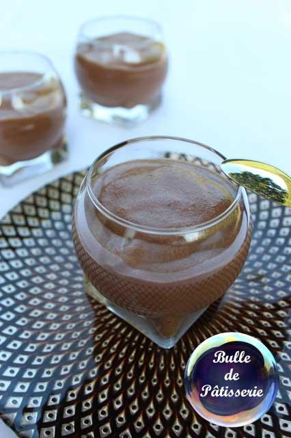 Dessert original : mousse au chocolat sans oeufs