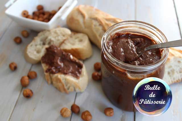 Recette : pâte à tartiner chocolat-noisettes maison
