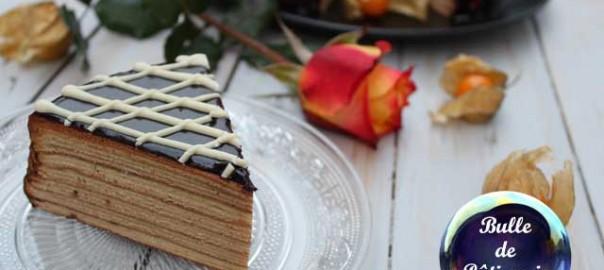 Dessert du Meilleur Pâtissier M6 : Schichttorte