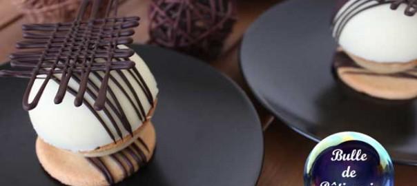 Pâtisserie : tarte au chocolat revisitée caramel et piment d'espelette