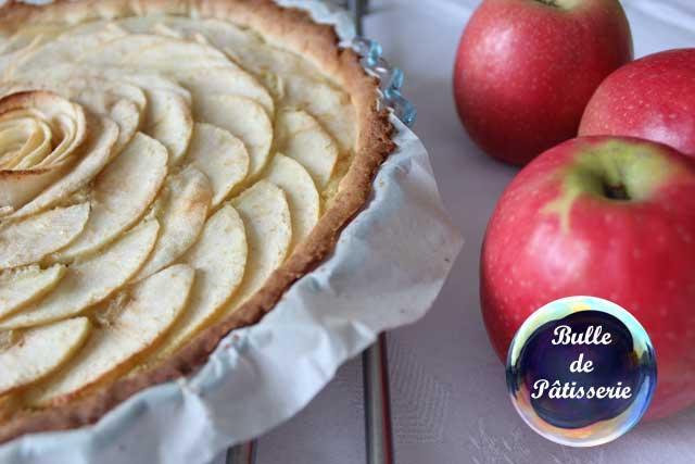 Recette : tarte amandine aux pommes