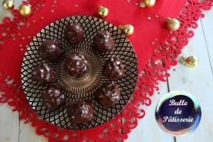 Petits choux façon Ferrero Rochers