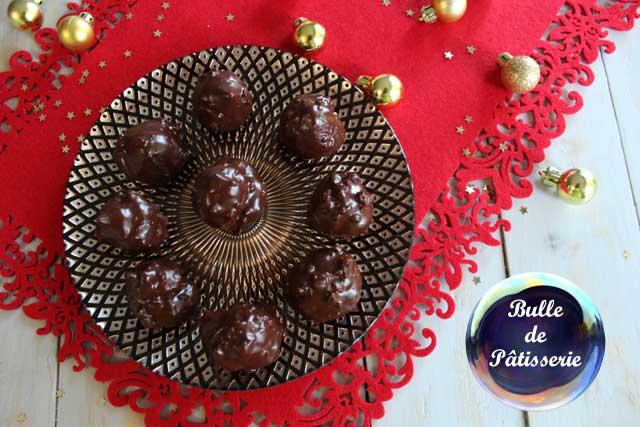 Recette de Noël : petit choux façon Ferrero Rochers