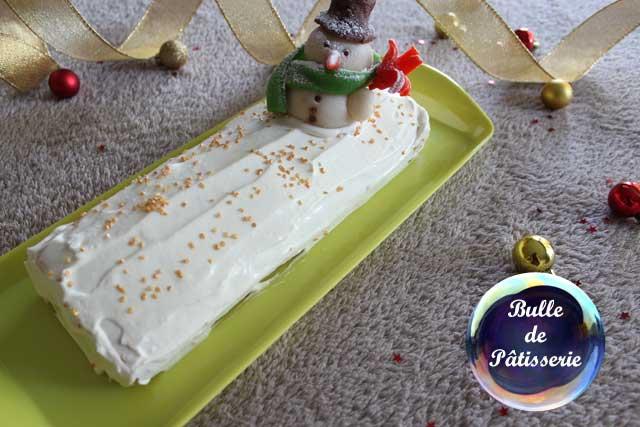 Recette de Noël : bûche roulée au citron