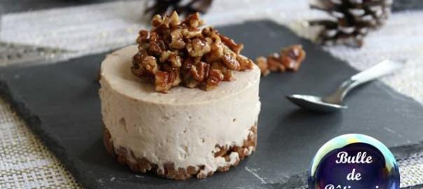Recette de Noël : cheesecake à la crème de marrons