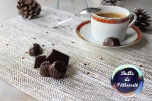 Chocolats de Noël ganache caramel